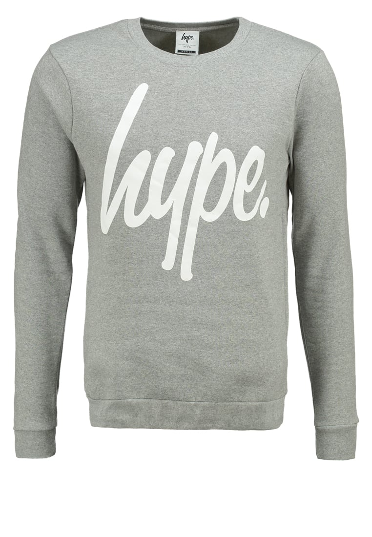 Hype Bluza grey/white - BASIC033