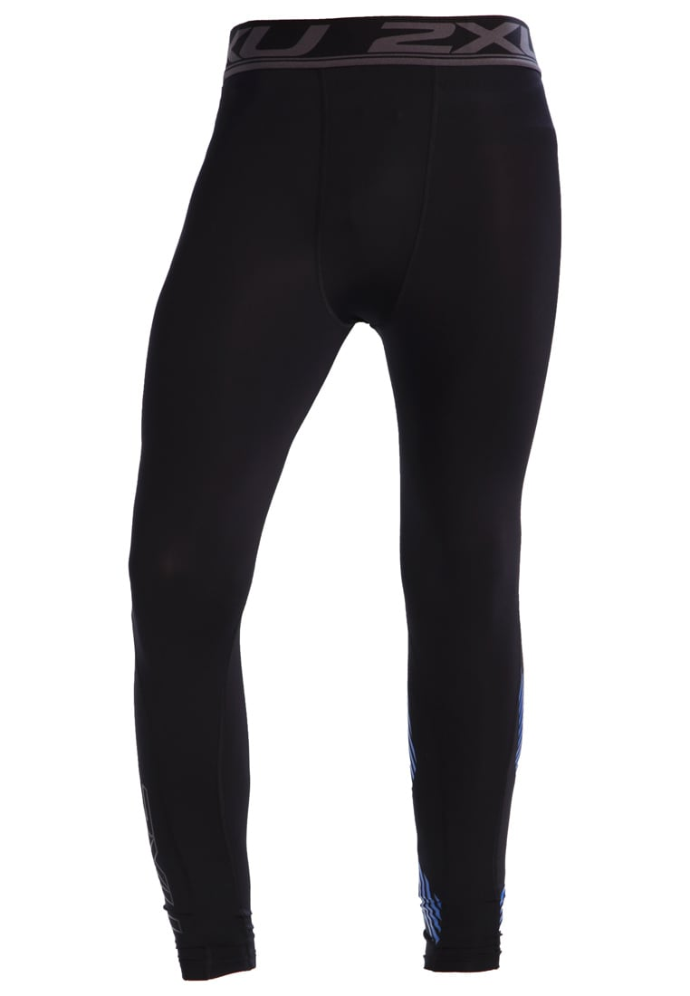 2XU ACCELERATE Legginsy black arrow/director blue - MA4476b
