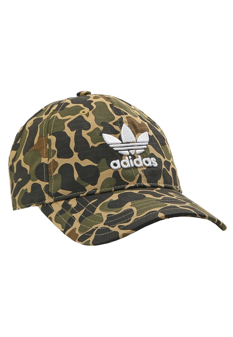adidas Originals CAMO BASEBALL Czapka z daszkiem multi coloured - EKQ15