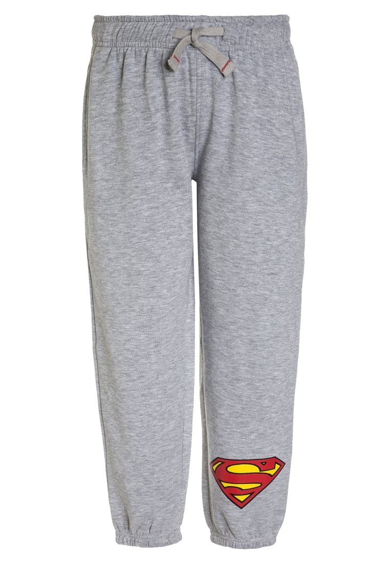 DC COMICS SUPERMAN SUPERMAN Spodnie treningowe light grey melange - SUP-525/9064