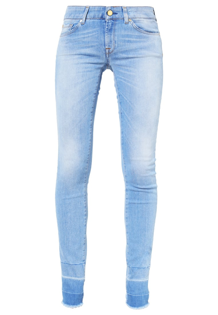 7 for all mankind CRISTEN Jeansy Slim fit lightblue denim - SWMK240