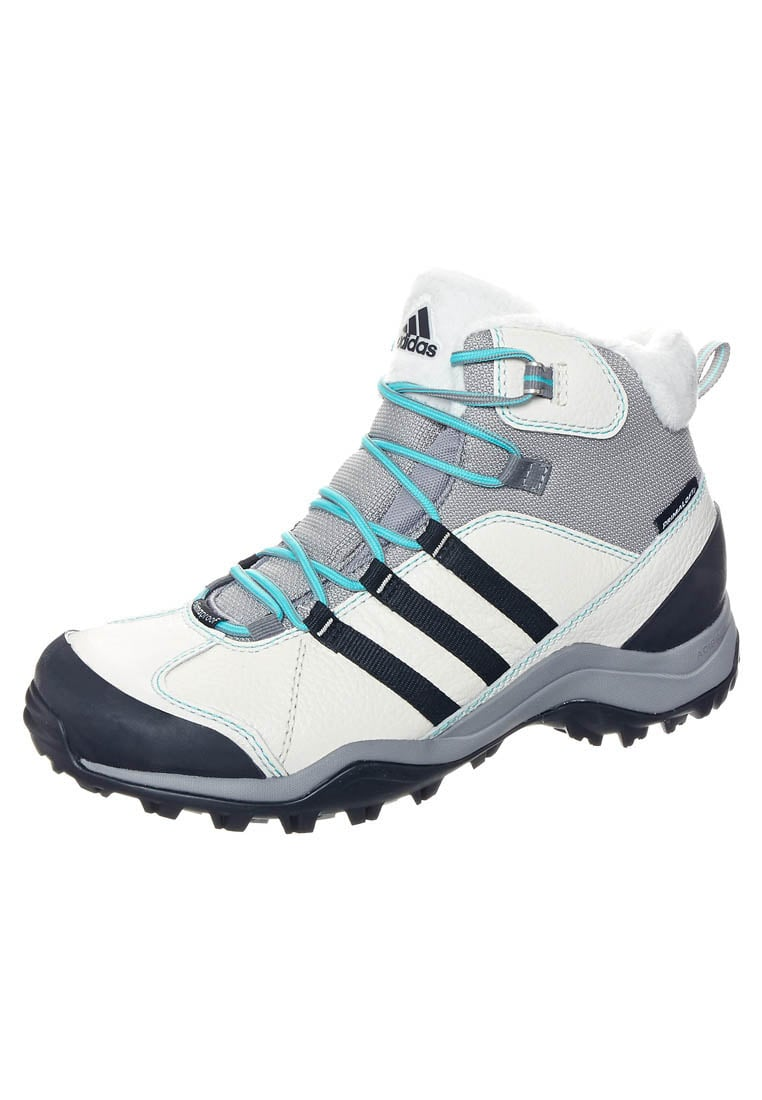 adidas Performance WINTERHIKER II Śniegowce chalk/black/vivid mint - ILK61