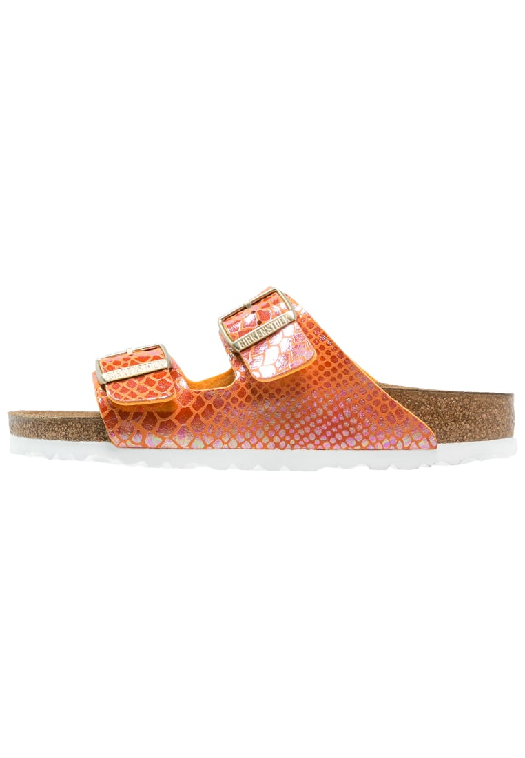 Birkenstock ARIZONA Klapki shiny orange