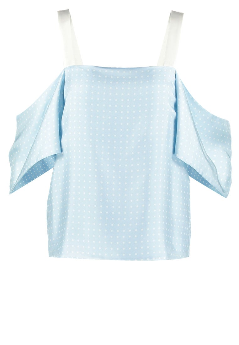 Topshop BOUTIQUE Bluzka lightblue - 25T53KMUL