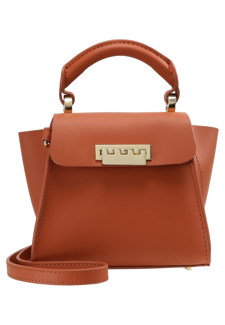 ZAC Zac Posen EARTHA ICONIC MINI TOP HANDLE Torba na ramię coral - ZP2006