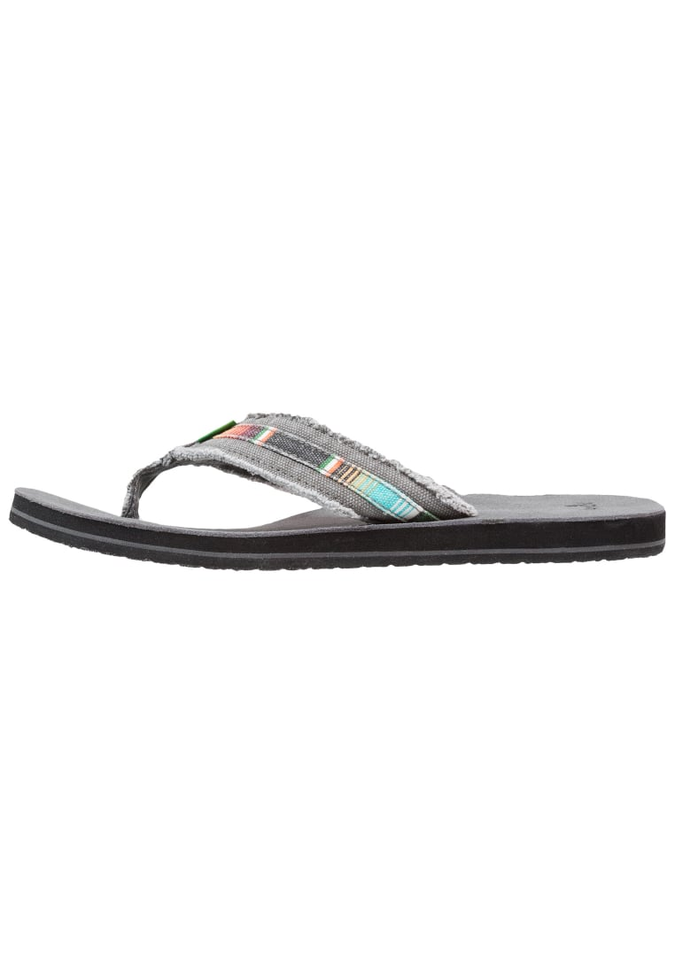 Sanuk FRAID SO Japonki charcoal/multicolor - 29418051