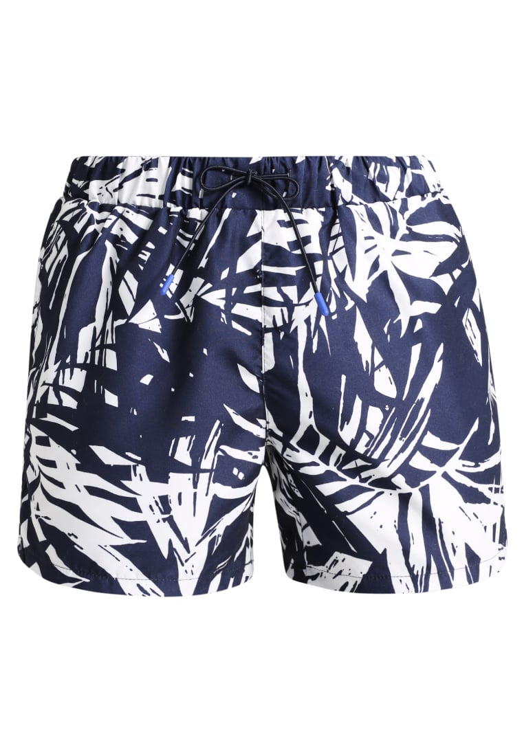 Topman BANANA LEAF SWIM Szorty kąpielowe dark blue - 33P20NNAV