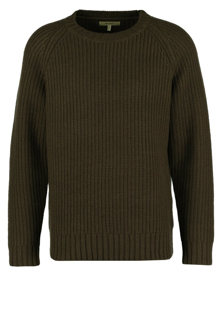 Whyred BYRNE Sweter brown military - 64MK1005