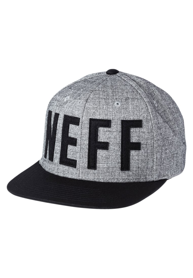 Neff BROTHER Czapka z daszkiem grey/black - 16P00038