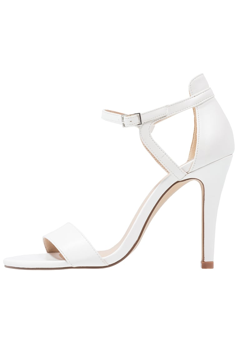ONLY SHOES ONLASTRID Sandały white - ASTRID