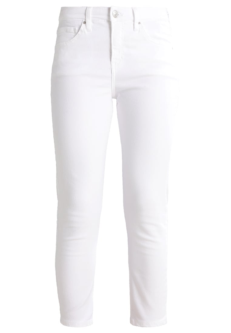 Topshop Petite JAMIE Jeans Skinny Fit white - 26A93LWHT