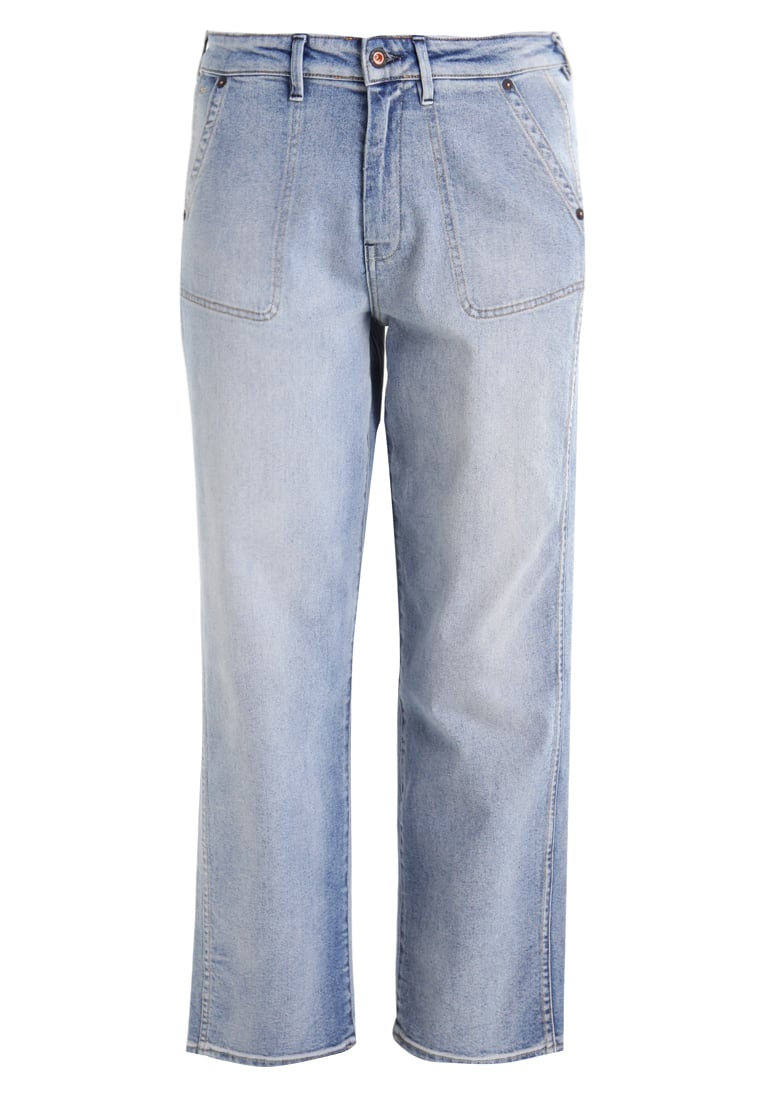 Denham BONNIE Jeansy Straight leg stone blue denim - 02-17-07-11-021
