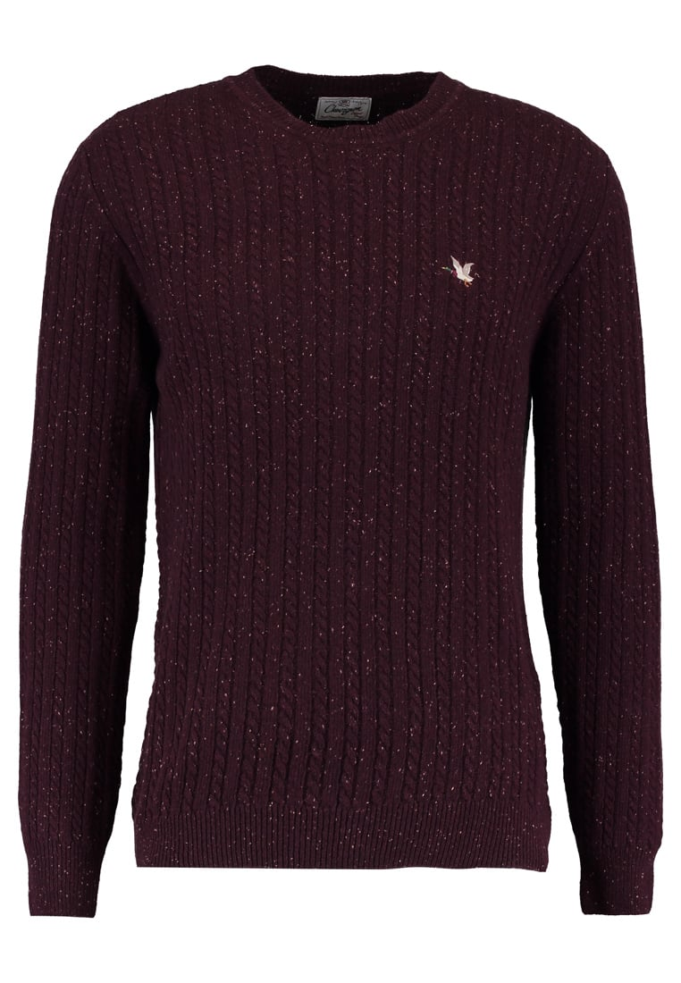 Chevignon OVER Sweter rouge burgundy - GHCUC018