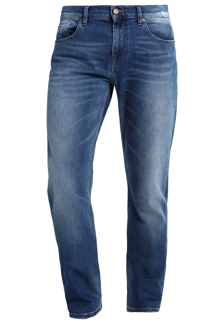 7 for all mankind CHAD AMERICAN PANORAMA Jeansy Straight leg mid blue - SD3U560MB