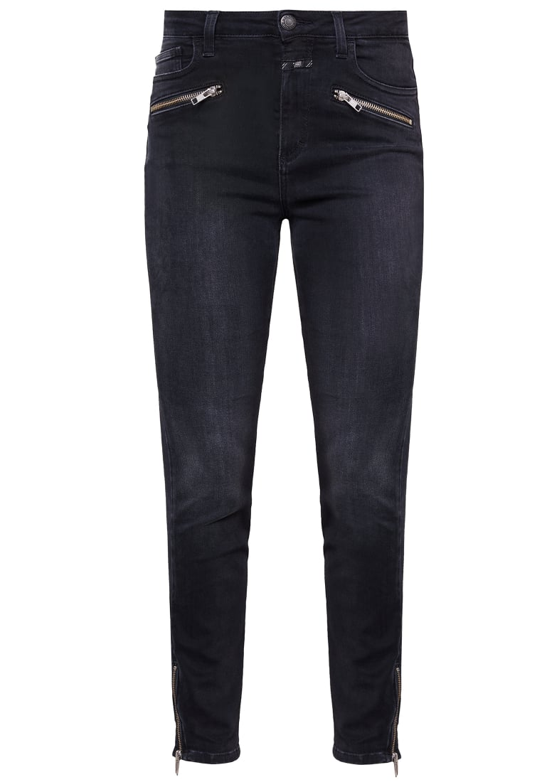 CLOSED AIMIE Jeansy Slim fit soft black
