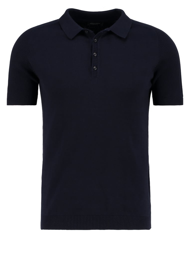Roberto Collina Koszulka polo navy - RT21024