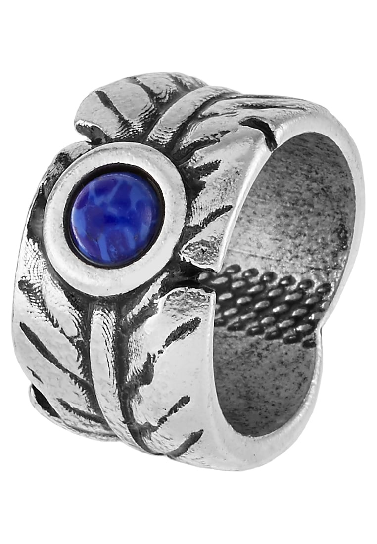 Double U Frenk NATIVE Pierścionek blue - RING