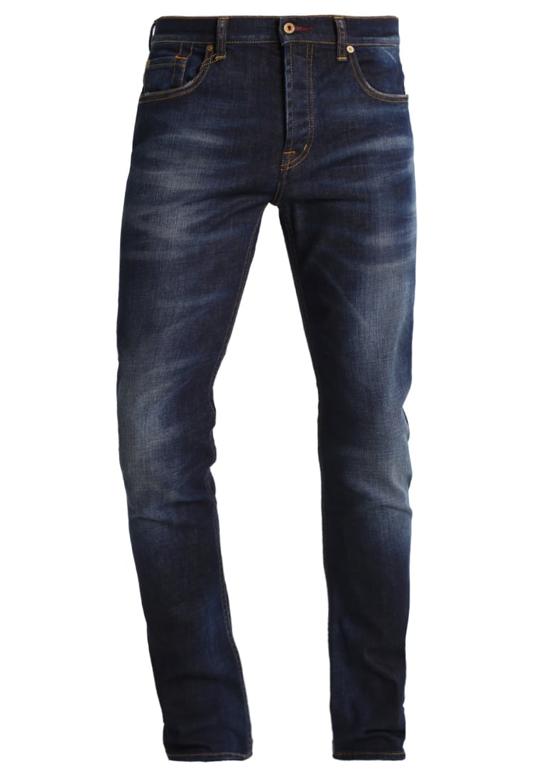 7 for all mankind CHAD Jeansy Slim fit wonderviewblue - SD3R610BH