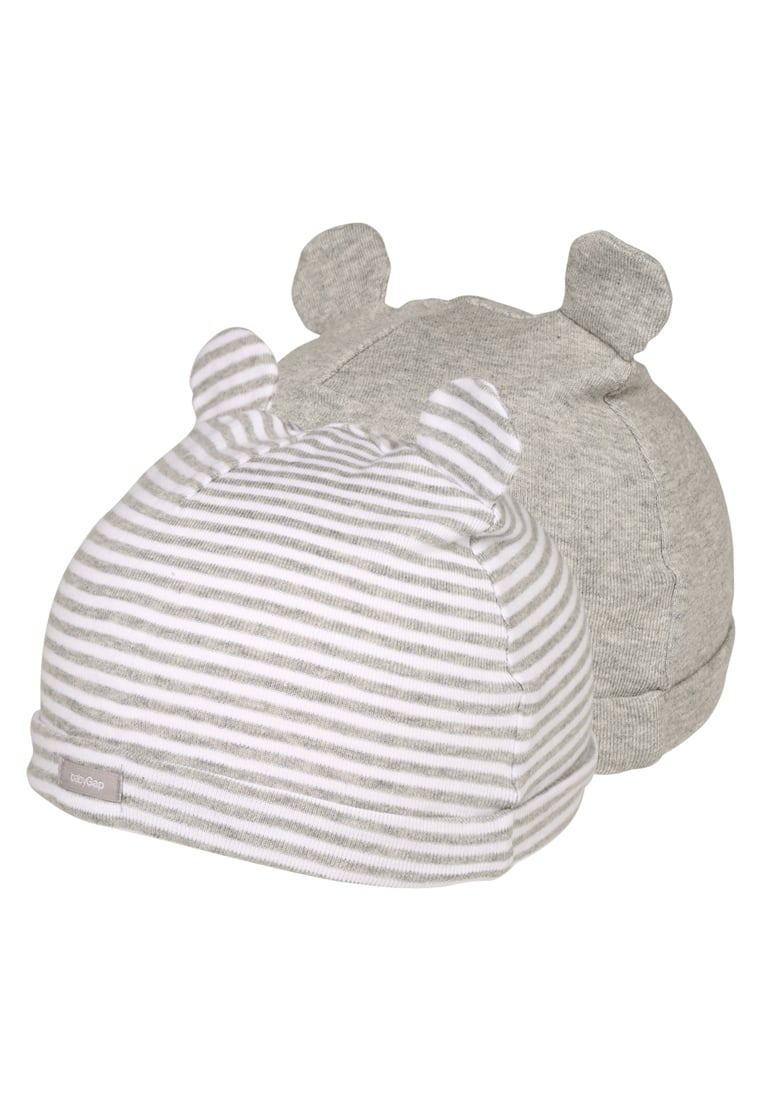 GAP 2 PACK Czapka light heather grey - 595711