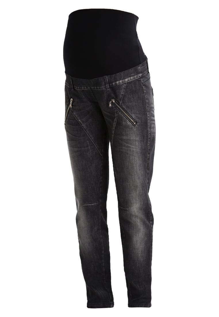 9Fashion GLOS Jeansy Relaxed Fit black - Glos