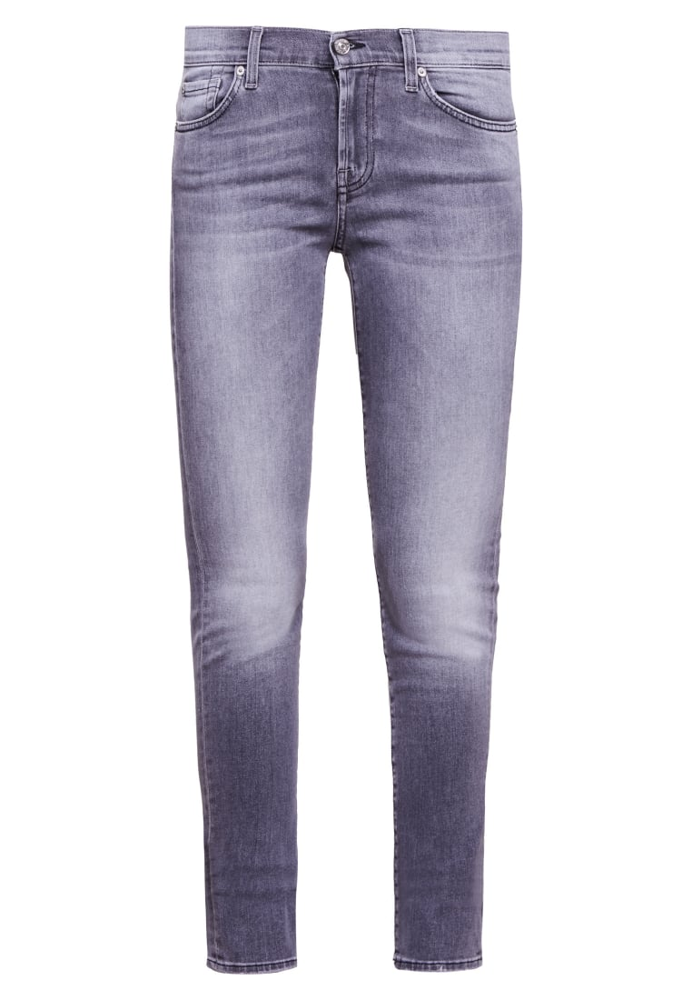 7 for all mankind MIDRISE ROXANNE Jeansy Slim fit grey - SLJL850HA