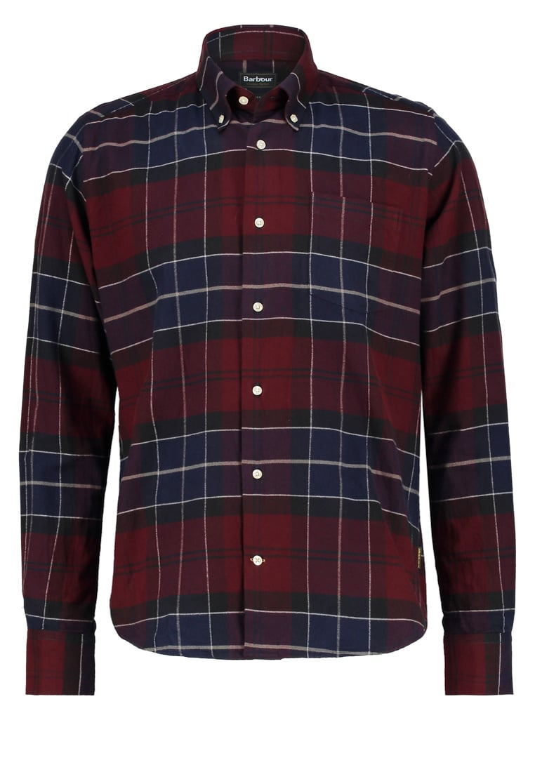 Barbour LUSTLEIGH TAILORED FIT Koszula merlot - MSH3749