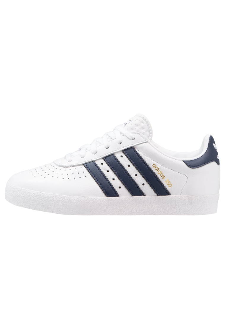 adidas Originals ADIDAS 350 Tenisówki i Trampki footwear white/collegiate navy/gold metallic - DWJ26