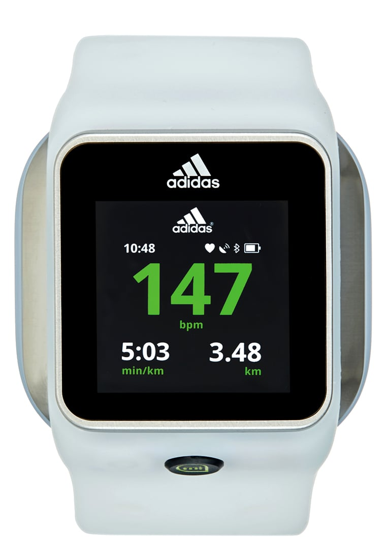 adidas Performance SMART RUN Pulsometr white - AG042