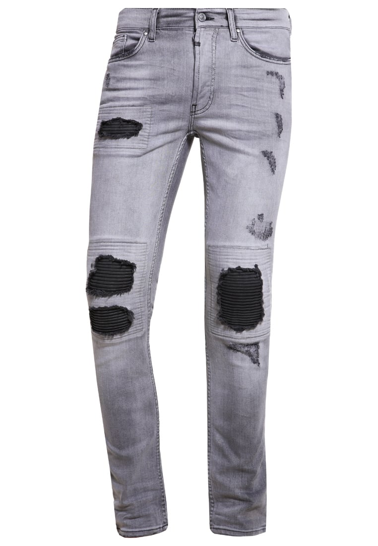 Tigha CLYDE Jeansy Slim fit grey - Clyde