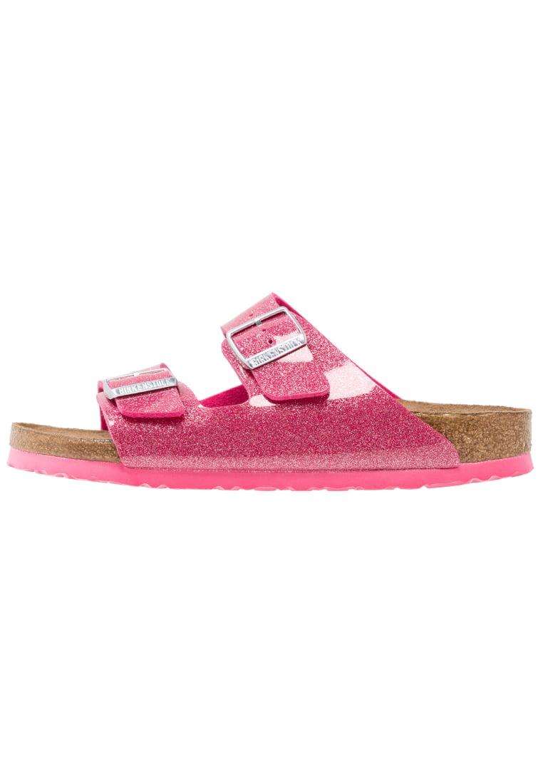 Birkenstock ARIZONA Klapki magic galaxy/bright rose