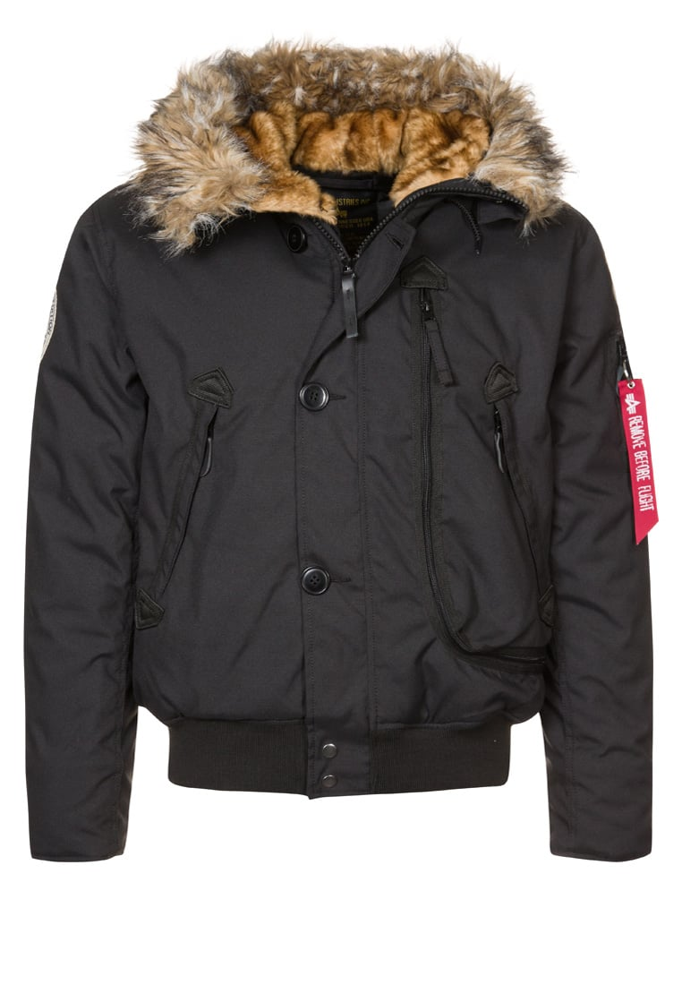 Alpha Industries Kurtka zimowa black - 133141