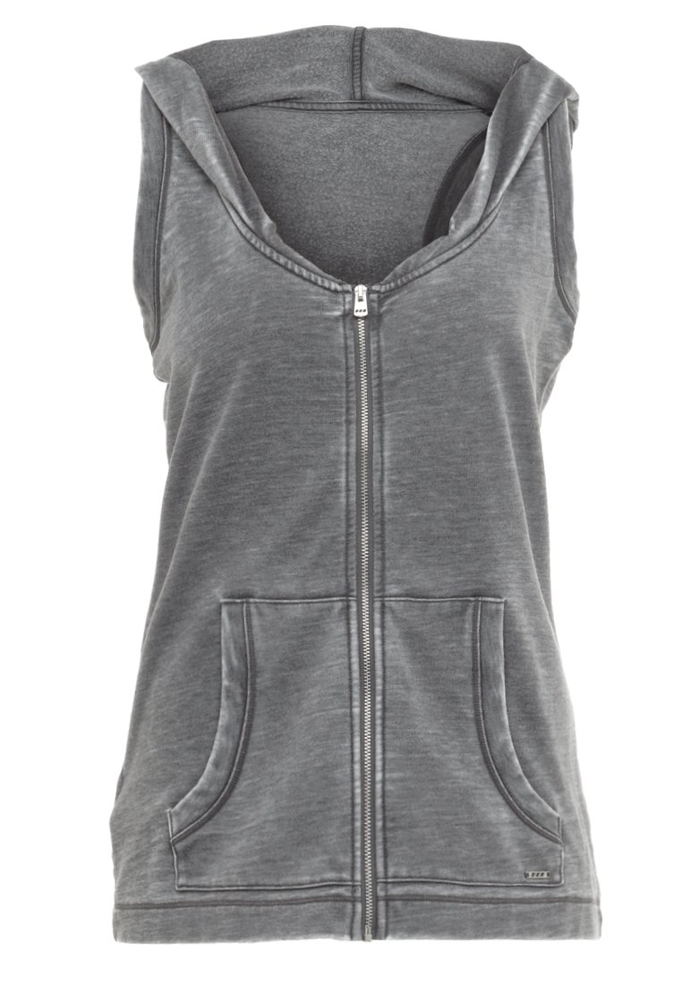 Lorna Jane JUST MOVE HOODIE Bluza rozpinana stone wash grey - W011825