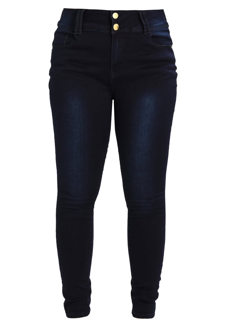 City Chic JEAN ASHA SK Jeans Skinny Fit dark denim - 00113505