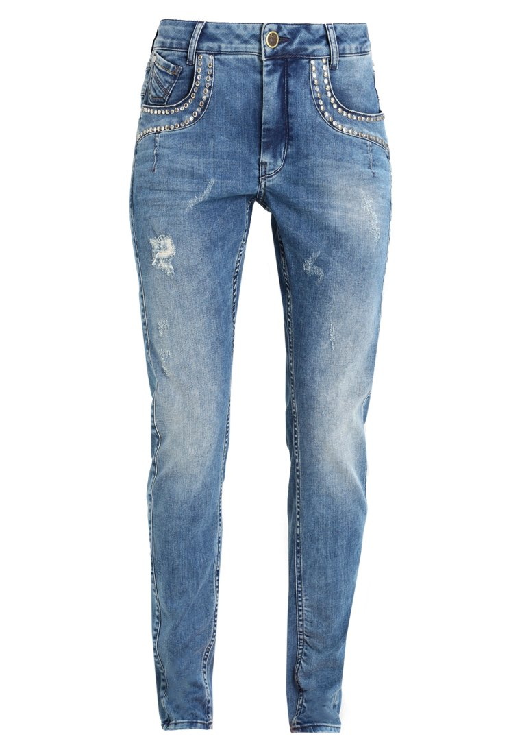Culture ANE AJO FIT PANT Jeansy Relaxed Fit blue wash - 50104375