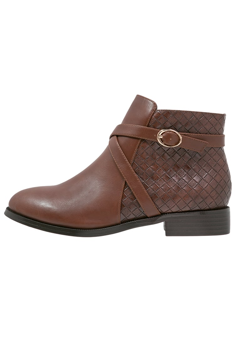 Divine Factory Ankle boot camel/marron - ZX2634
