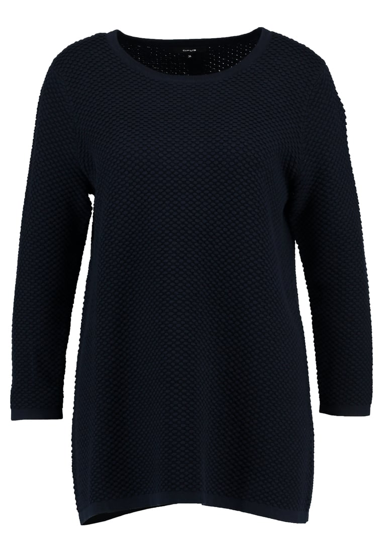 Opus PENNIE Sweter dark night