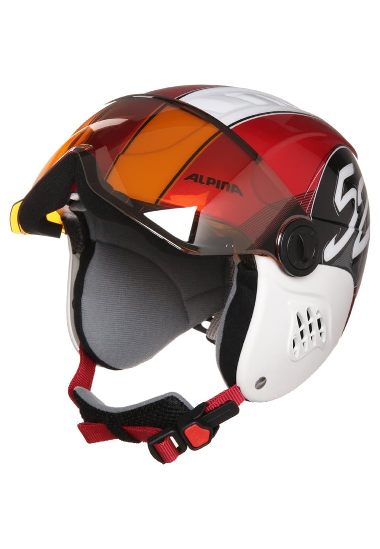 Alpina CARAT Kask red race - A9083