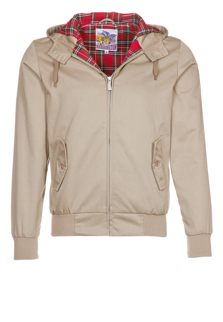 HARRINGTON Kurtka wiosenna beige - HARRINGTON HOODED