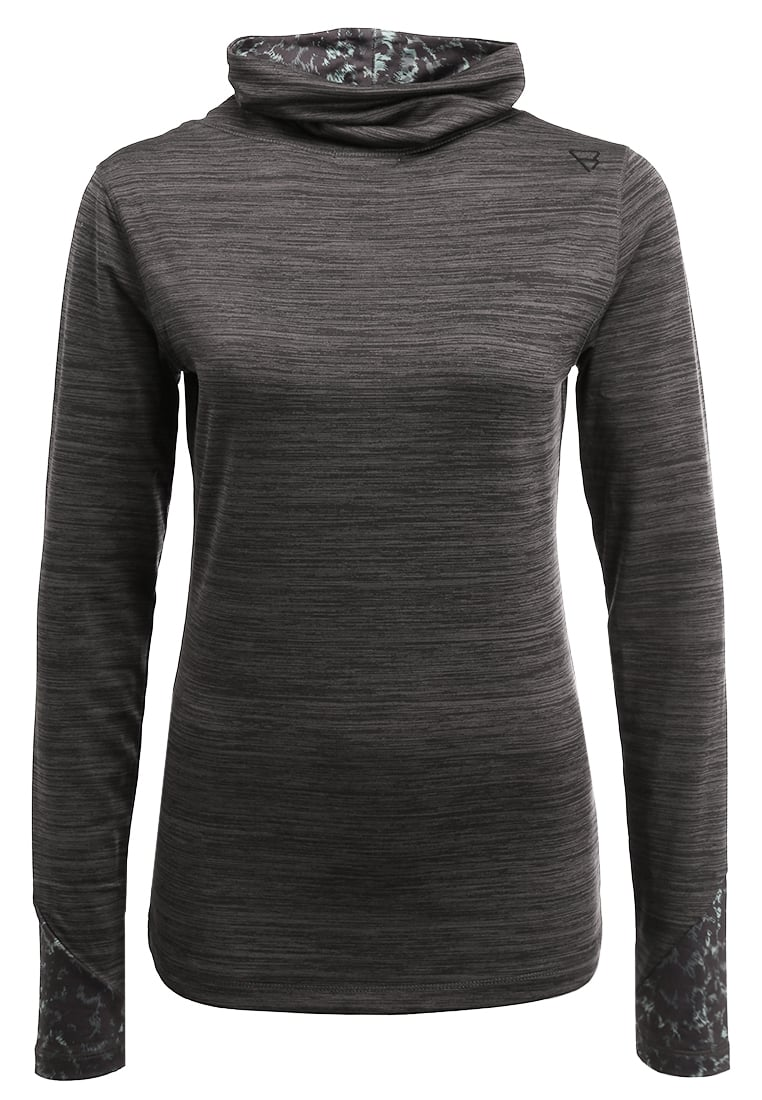 Brunotti HALO Bluza z polaru dark grey melange - 1722019035