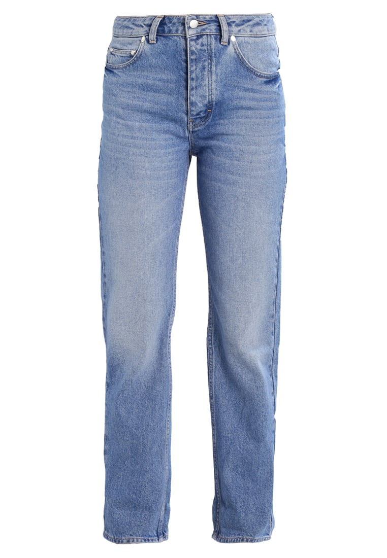 WeSC ALVISA Jeansy Relaxed fit average blue - H409829