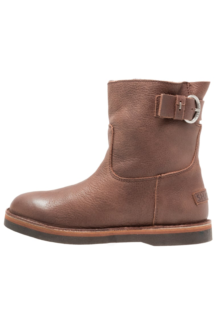 Shabbies Amsterdam Botki olive brown - 181020027