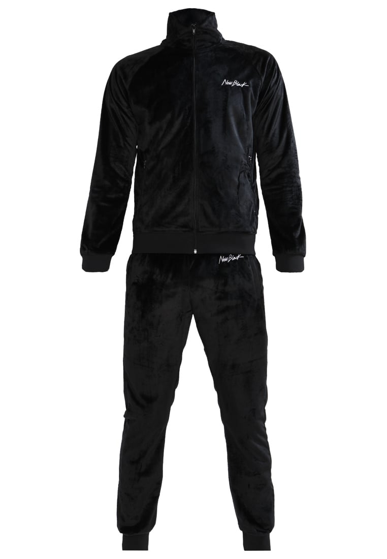 New Black Dres black - Velour Jacket + Velour Sweatpants