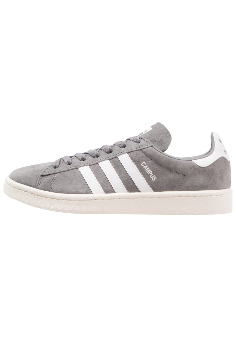 adidas Originals CAMPUS Tenisówki i Trampki grey three/footwear white/chalk white - BEF02