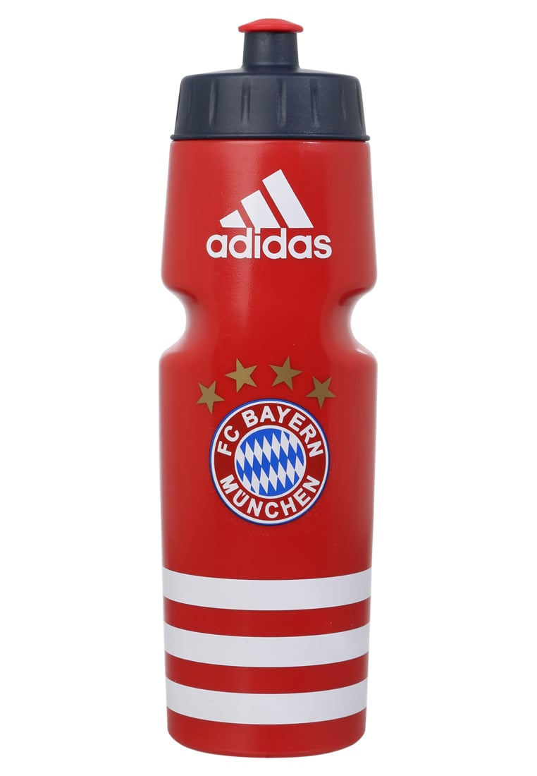 adidas Performance FC BAYERN MÜNCHEN 750ml Artykuły klubowe true red/granite/white - DKX37