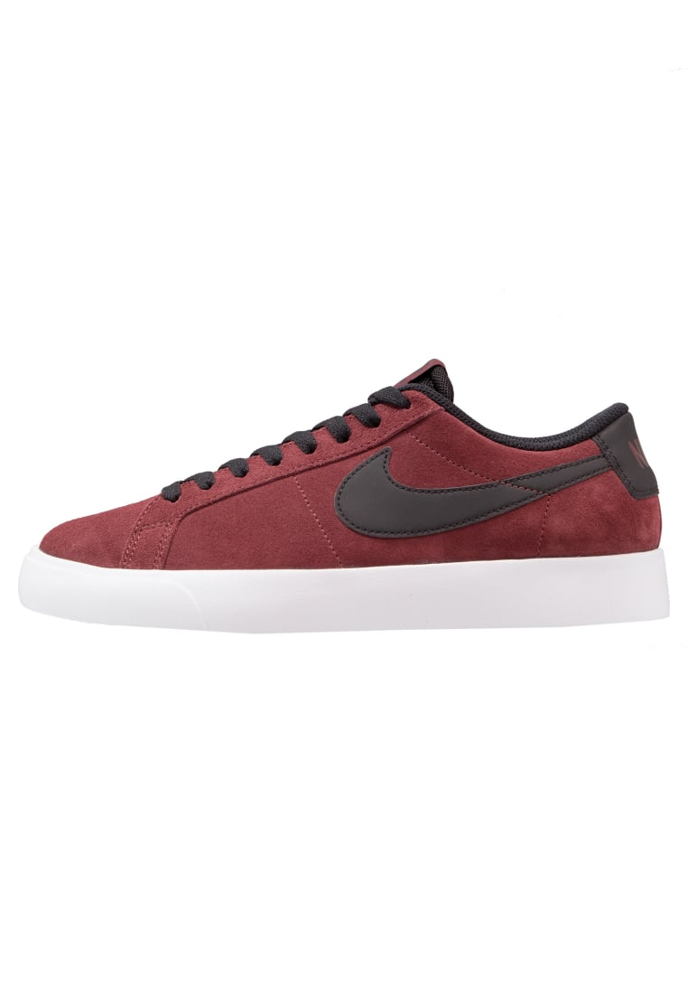 Nike SB BLAZER VAPOR Tenisówki i Trampki dark team red/black/white - 878365