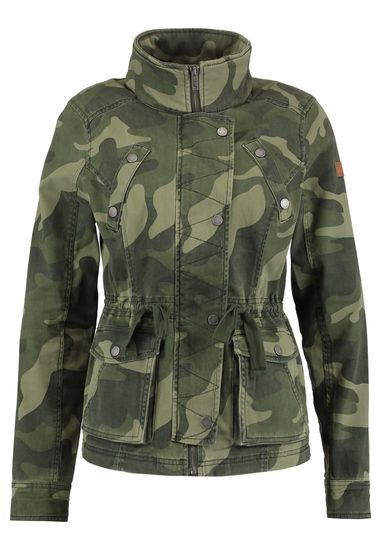 Hollister Co. ALL YEAR Kurtka wiosenna olive - KI344-7413