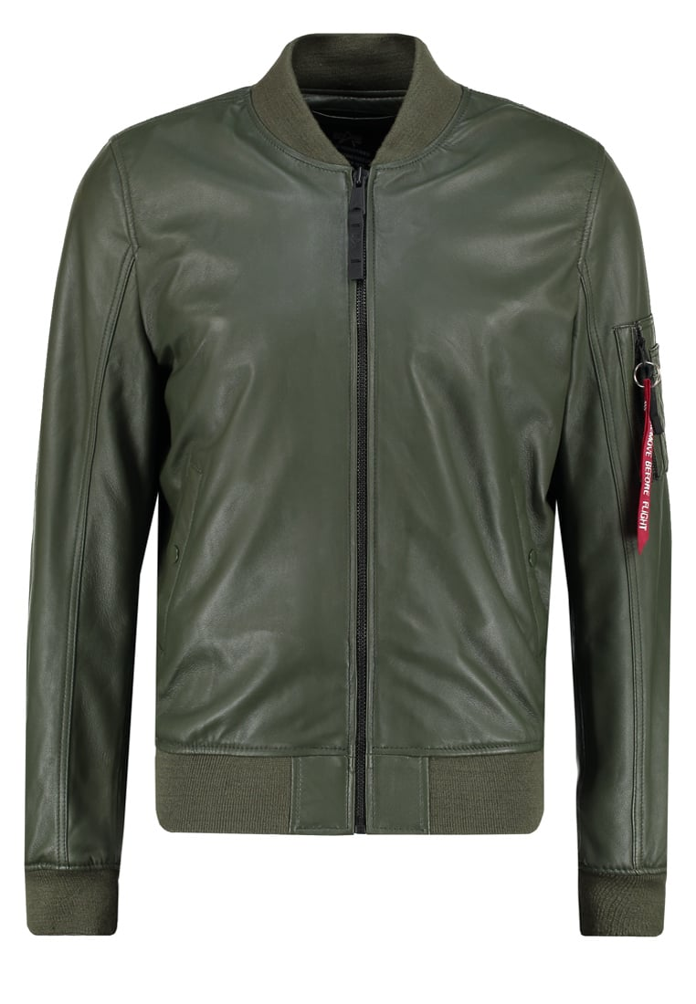 Alpha Industries Kurtka Bomber dark green - 176151