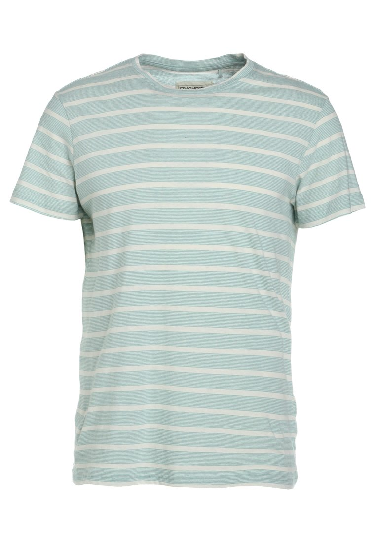 Craghoppers BERNARD SHORT SLEEVED Tshirt z nadrukiem light blue - CMT824