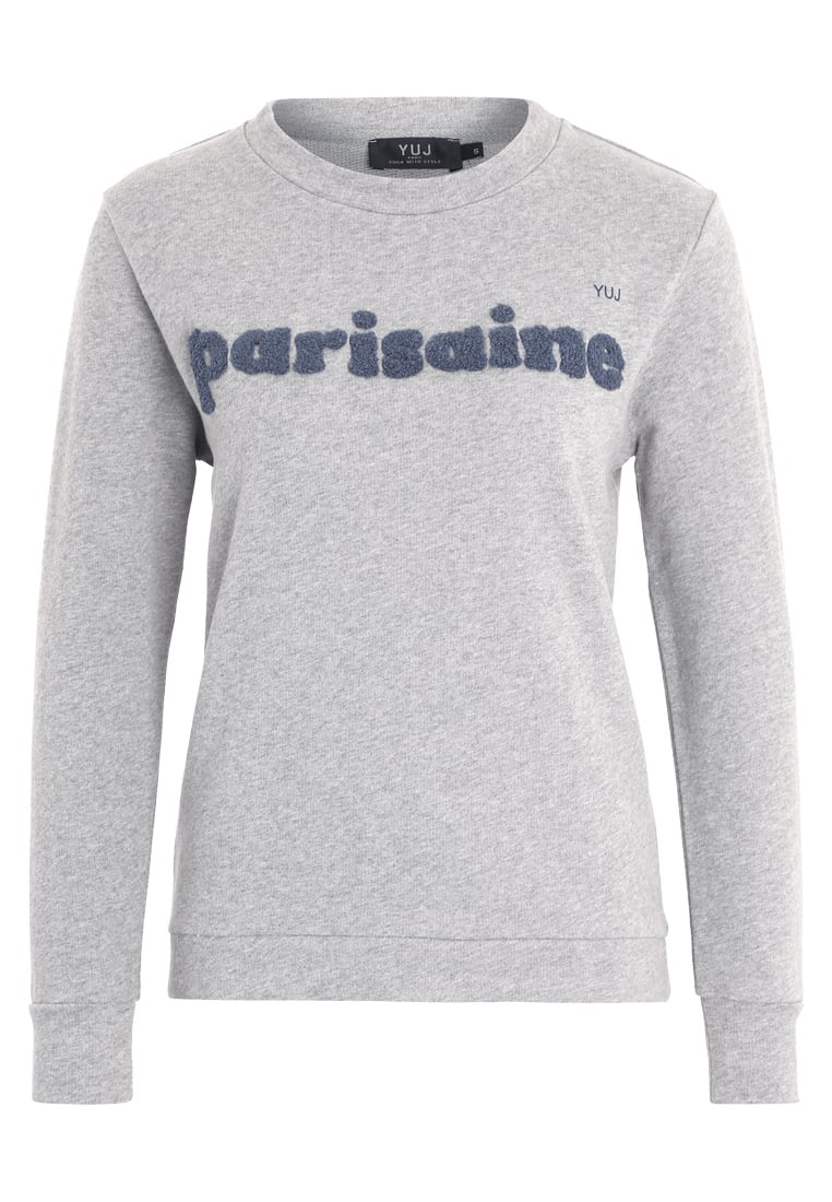 YUJ PARISAINE Bluza grey/blue - SWEATER PARISAINE