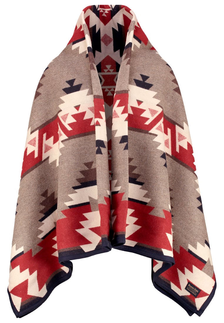 Pendleton Ponczo fawn/mountain majesty - ZE493